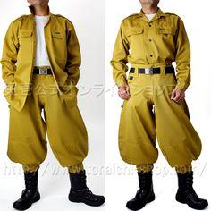 Toraichi 2530-108 Long open shirt 2530-410 Cho long pants
