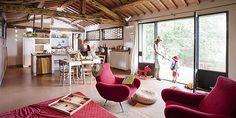 cute modern farmhouse in tuscany.