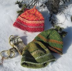 Ravelry: Baltic hat and bag pattern by Kate Hedstrom