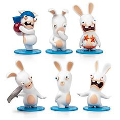 Rabbids Invasion Mini Figure Packs Series 2 | ThinkGeek