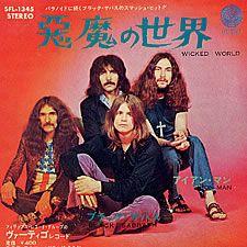 Black Sabbath,Wicked World,Japan,Deleted,7