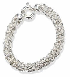 Thick Sterling Silver 8