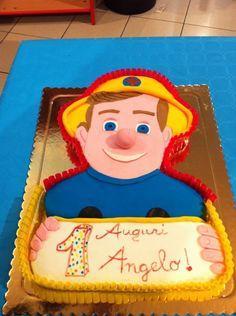 Torta Pompiere Sam