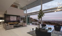 Exquisite Hollywood Mansion Captures The Picturesque Views Of The City. My pad on the holidays. Lol