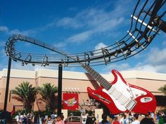 rock and rollar coaster guitar... that ride was awesome!
