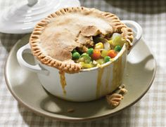 vegetarian time, veget pot, food, vegetarian pot, vegetables, fun recip, pie recip, pot pies, veggi pot