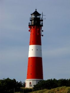 Lighthouses of Germany: North Frisia Places Around The World, Around The Worlds, Holidays Germany, Brittany France, Beacon Of Light, Spain And Portugal, Water Tower, North Sea, Outdoors