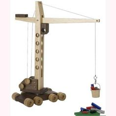 Contractor Grade Mobile Crane Toy - Paper Plan