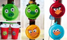 Angry Birds decoration