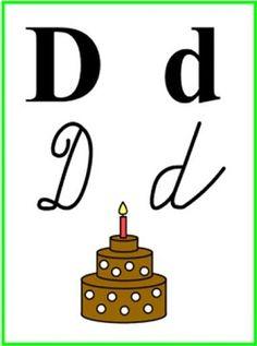 ABECEDA PÍSMENO D Charlie Brown, Activities For Kids, Alphabet, Education, Rain Fall, Children Activities, Alpha Bet, Kid Activities, Petite Section