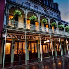 12 Old Restaurants in New Orleans that have stood the test of time: 1) Antoine's Restaurant, 713 St. Louis Street, 1840