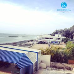 The #Sailing #Club with 3 #BeachVolley courts and 2 #Beachtennis #courts are right next door at Poseidonia Beach Hotel, without forgetting all the #Watersports activities... #Entertainment in our surroundings! #Newmanagement #Cyprus #Limassol #Hotel — at Poseidonia Beach Hotel.