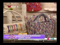 Sepet çanta nasıl yapılır? - Derya Baykal - Deryanın Dünyası - YouTube
