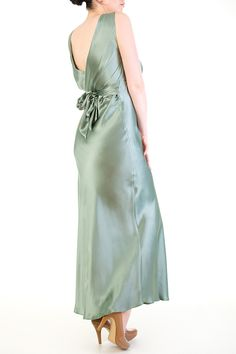 Harlow & Fox - Vivienne Pure Silk Elegant Draped Nightgown <3<3<3<3<3