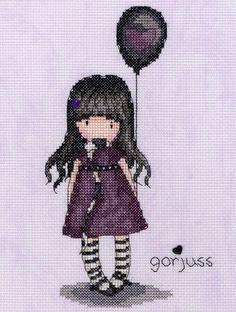 """""""The Balloon"""" cross stitch kit"""