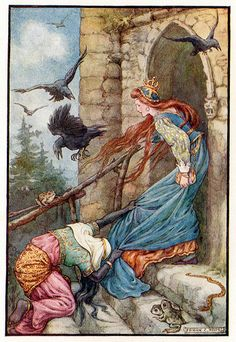 'The Golden Fairy Book' illustrated by Frank C. Pape