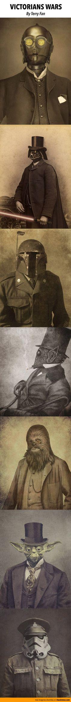 Victorian Wars. By Terry Fan.