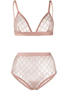 Shop online pink Gucci GG lace lingerie set as well as new season, new arrivals daily. Phenomenal luxury selection, get it now with quick Global Shipping or Click & Collect orders. Lingerie Rose, Pin Up Lingerie, Women's Lingerie Sets, Jolie Lingerie, Pretty Lingerie, Luxury Lingerie, Gucci, Rhinestone Bra, Designer Lingerie