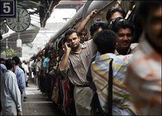 Mumbai local train ride