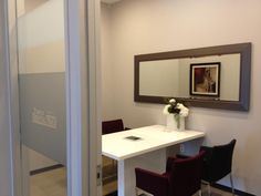 Consultation room at Temple Dental Trails.