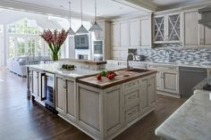 Painted-Warm-Grey-Kitchen-in-Winnetka-4