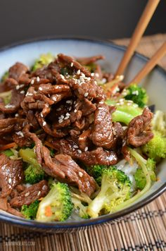 Love this beef teriyaki strip your