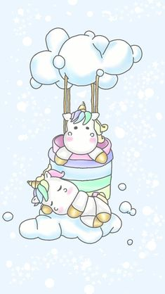 Pics For Cute Animated Unicorns
