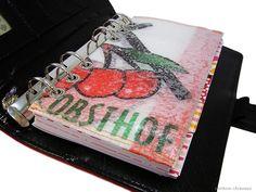 Filofax Kikki K Personal Tasche Einlage B-Ware - ein Designerstück von rainbowcaraways bei DaWanda