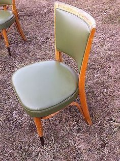 6-Great-Mid-Century-Chairs-Original-Upholstery-brass-feet-bentwood-supports