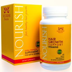 Nourish Beaute Hair Loss Supplement With Biotin and Natural DHT Blockers Faster Thicker Hair Regrowth for Men and Women 1 Month Supply >>> Details can be found by clicking on the image. (This is an affiliate link) Best Hair Growth Supplements, Best Hair Growth Vitamins, Vitamins For Hair Loss, Vitamins For Women, Organic Supplements, Biotin For Hair Loss, Biotin Hair Growth, Hair Regrowth, Mascara