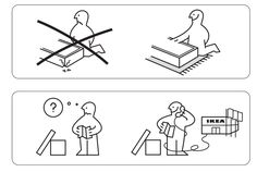 16 Out-of-Context IKEA Instructions to Help You Live a Better Life | Mental Floss (I am literally crying at #14)