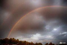 Ingezonden foto: Regenboog boven Klazienaveen