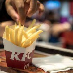 KFC Introduces Secret Recipe Fries Nationwide Gravy Recipe No Drippings, Kfc Gravy Recipe, Kfc Chicken Recipe, Chicken Gravy, Fried Chicken, Chicken Recipes, Fast Food Menu, Food Out, Secret Recipe