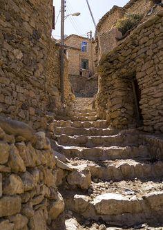 Old Kurdish Village Of Palangan, Iran