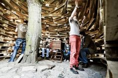 Be Palettø: A Pavilion Of Pallets Provide Pupils With a Place ...