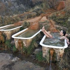 This Little-Known Spot In The Desert Is Home To One Of The Most Unique Tubs On Earth