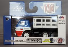1:64 M2 MACHINES DETROIT MUSCLE R36 - 1966 DODGE L600 TRUCK #M2Machines #Dodge