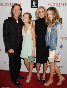 Happy family: The actor shares daughters Sofia, and Georgia, with wife of 21 years. We Are Family, Happy Family, William H Macy, Felicity Huffman, Boy Walking, Daughters Room, Open Minded, Political Science, News Website