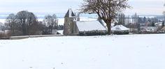 L'église et la neige