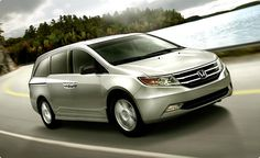 My dream car. The Camry is nice but it hurts my hips and legs...vans are great for Fibro pain AND have lots of room!!!