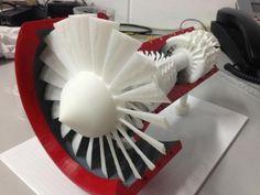 Jet Engine made on a 3D Printer   3D Printer News & 3D Printing News