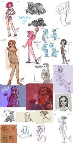 Oodles of Doodles by *Britt315 on deviantART