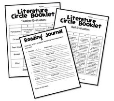 Guided Reading and Lit Circles Resources
