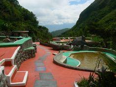 Chachimbiro hot springs Ecuador