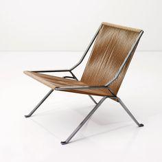 PK-25 chair designed by Poul Kjaerholm in 1952
