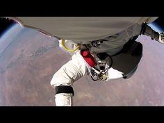 First-Person-View Of Felix Baumgartner's Space Jump  | Impressionante nova visão em primeira pessoa do salto de Felix Baumgartner