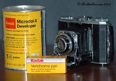[Kodak Verichrome Pan] How to develop such an old film ? - Photo.net B&W Photo - Film & Processing Forum