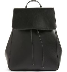 Sole Society Ivan Faux Leather Backpack /