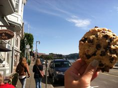 Sausalito Bakery & Cafe in Sausalito, CA, really great home-made style cookies.