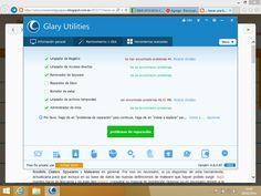 Aquí os muestro un pantallazo del programa Glary utilities que tanto me ha servido para limpiar mi PC de malwares!